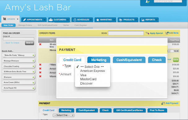 Lash Salon Software